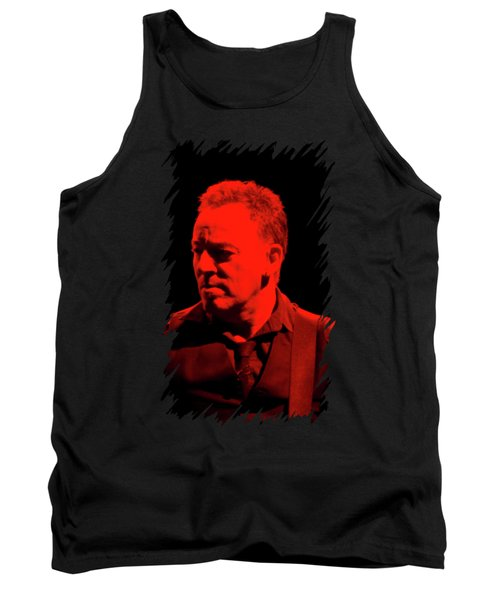 Bruce Springsteen Tank Top by Mona Jain