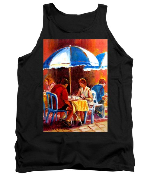 Brunch At The Ritz Tank Top