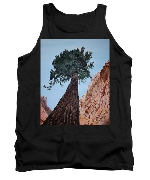 Tank Top featuring the painting Bryce Pine by Kevin Daly