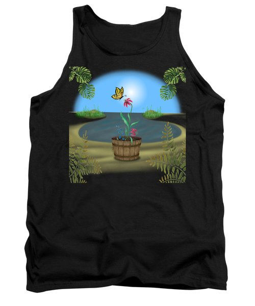 Bucket Butterfly Tank Top