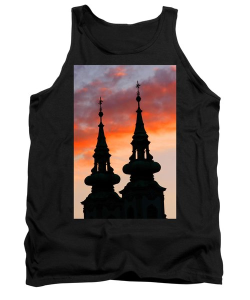Tank Top featuring the photograph Budapest Sunset by KG Thienemann
