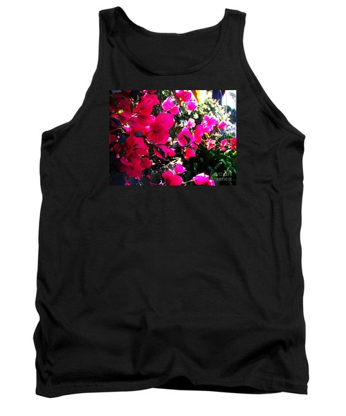 Tank Top featuring the photograph Bugambilia by Vanessa Palomino