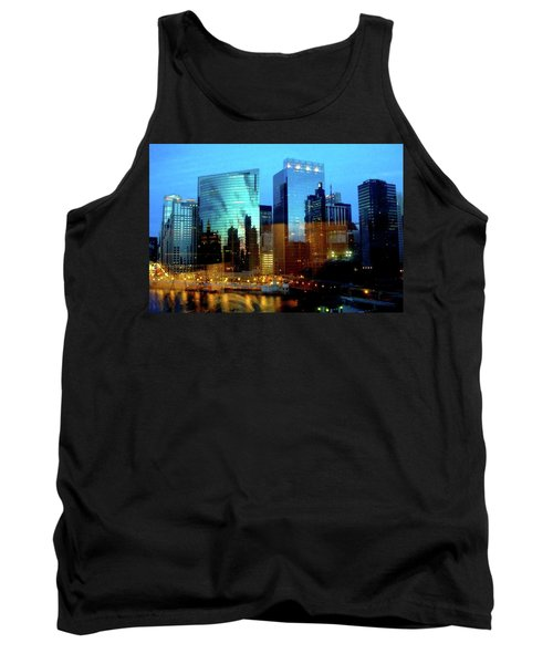 Reflections On The Canal Tank Top