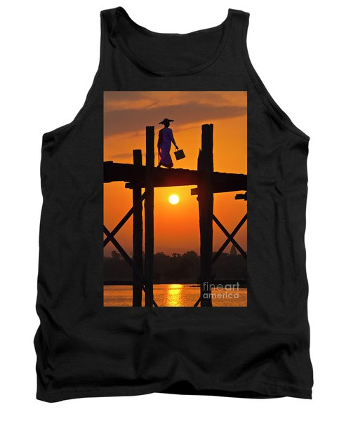 Tank Top featuring the photograph Burma_d807 by Craig Lovell