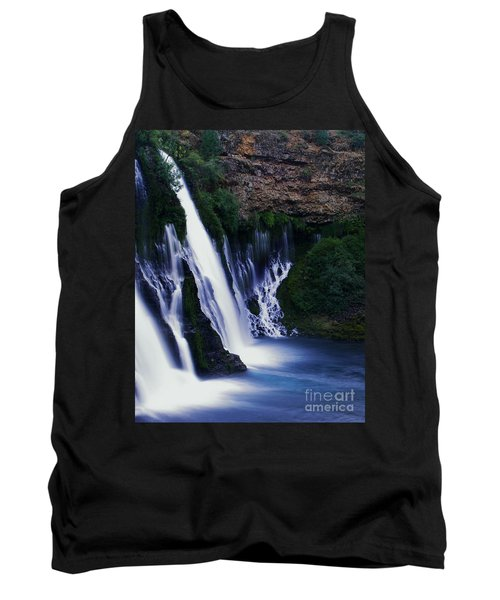 Tank Top featuring the photograph Burney Blues by Peter Piatt