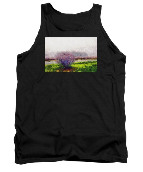 Tank Top featuring the photograph Burning Bush by Spyder Webb