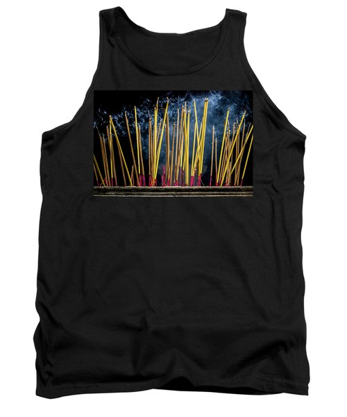 Burning Joss Sticks Tank Top