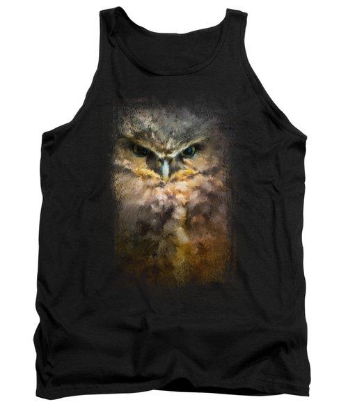 Burrowing Owl Tank Top by Jai Johnson