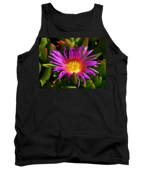 Tank Top featuring the photograph Burst Of Beauty by Debbie Karnes
