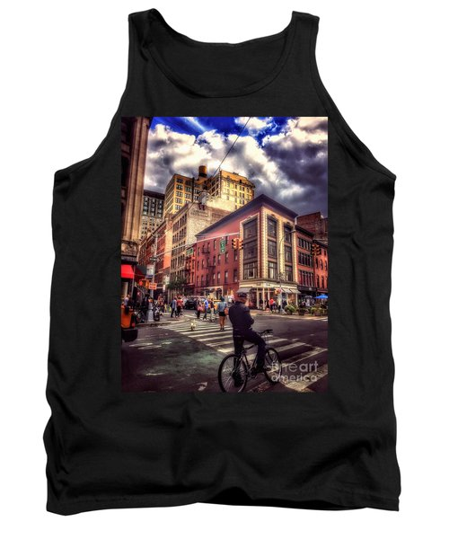 Busy Day In The City Tank Top
