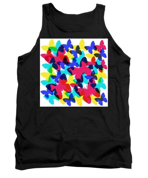 Butterflies Tank Top