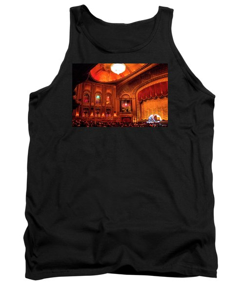 Tank Top featuring the photograph Byrd Theatre Organist II by Jean Haynes