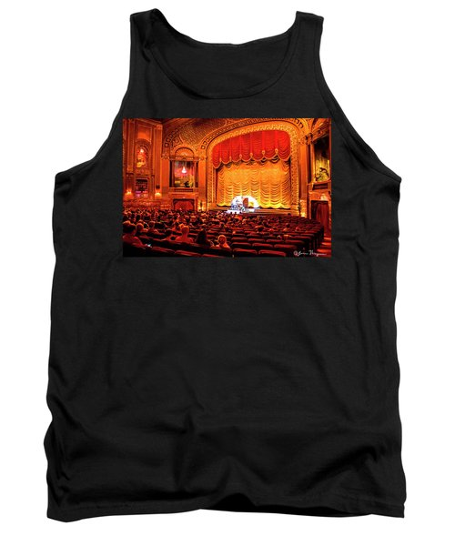 Tank Top featuring the photograph Byrd Theatre Organist by Jean Haynes