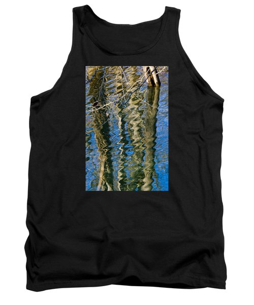 C And O Abstract Tank Top