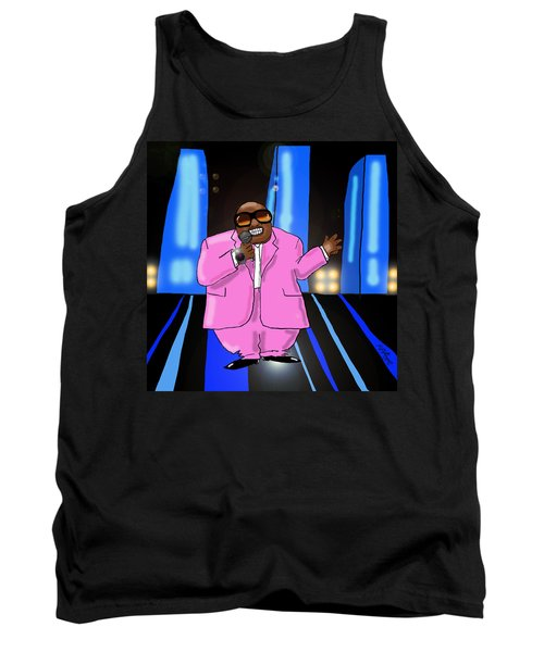 C-lo Pink Tank Top