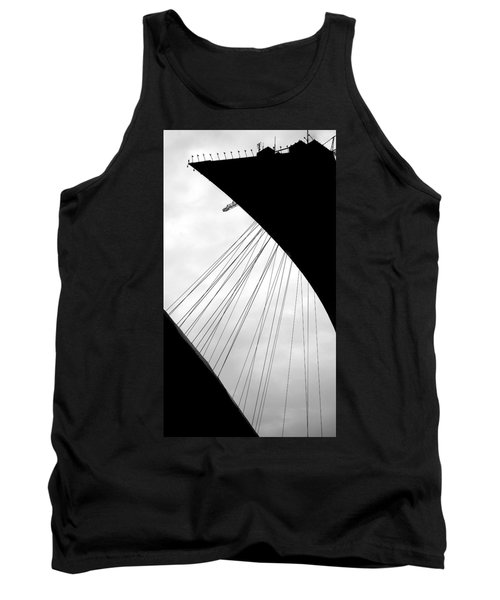 Tank Top featuring the photograph Cables And Funes by Valentino Visentini