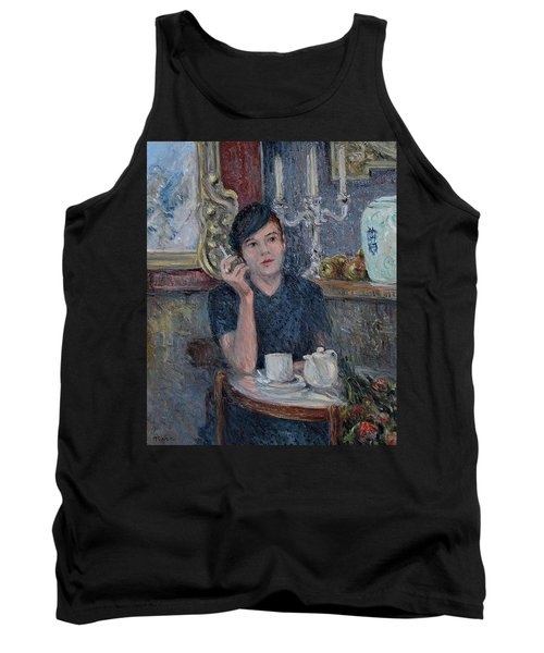 Cafe De Paris  Tank Top