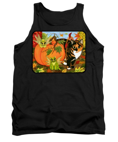 Calico's Mystical Pumpkin Tank Top