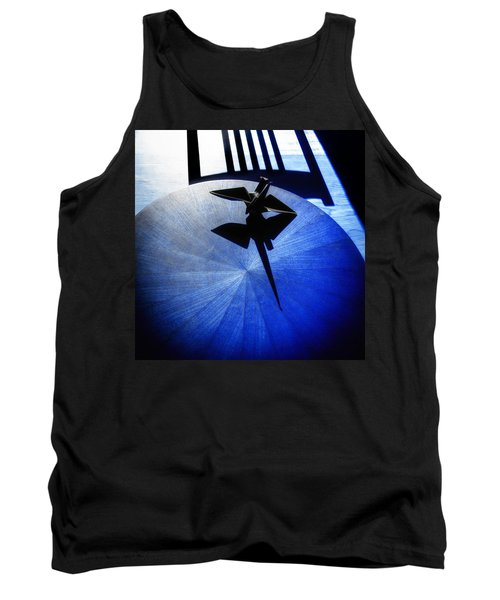 Tank Top featuring the photograph California Blue by Wayne Sherriff