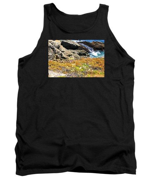 California Coastal Flora Tank Top