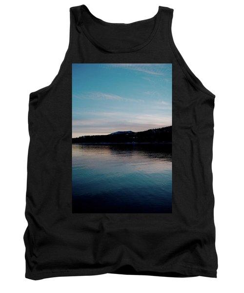 Calm Blue Lake Tank Top