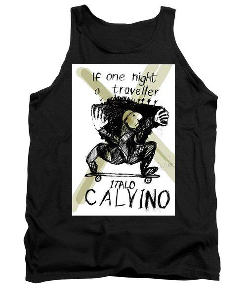 Calvino Traveller Poster  Tank Top