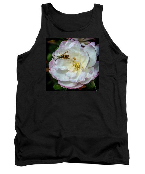 Tank Top featuring the photograph Camelia With Company by Susi Stroud