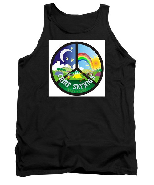 Camp Skyhigh Tank Top by Karen Musick