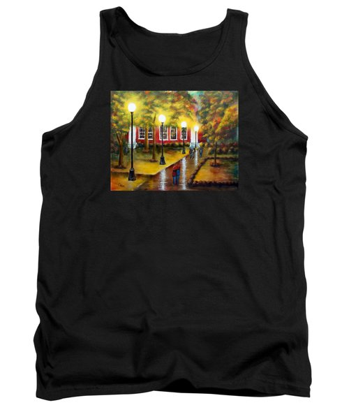 Campus Rain Tank Top by Chris Fraser