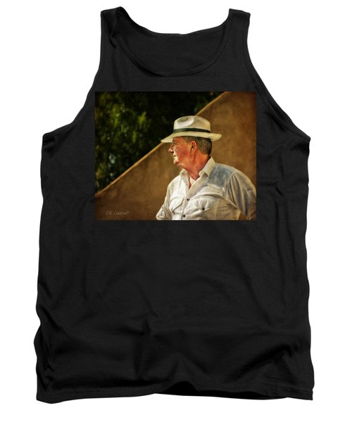 Canadian Artist In Provence Tank Top by CR  Courson