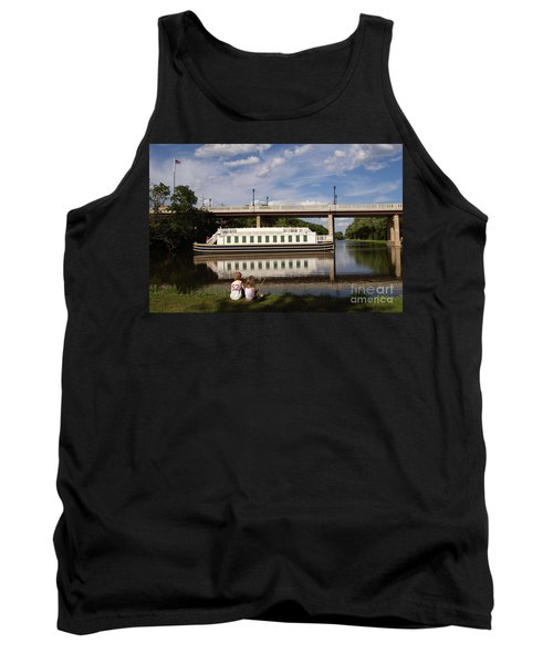 Canal Boat  Tank Top