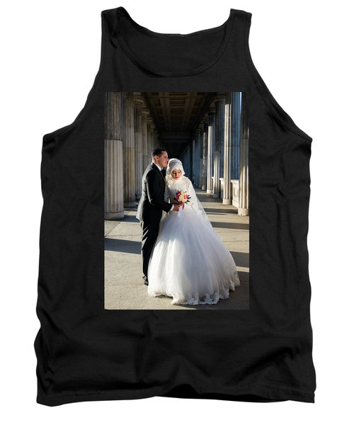 Candid Wedding Shot Tank Top