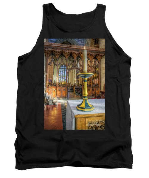 Tank Top featuring the photograph Candle Of  Prayer by Ian Mitchell