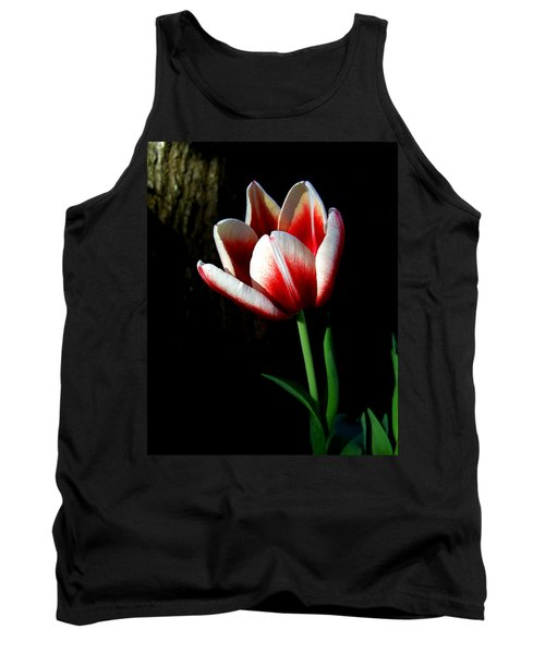 Candy Cane Tulip Tank Top