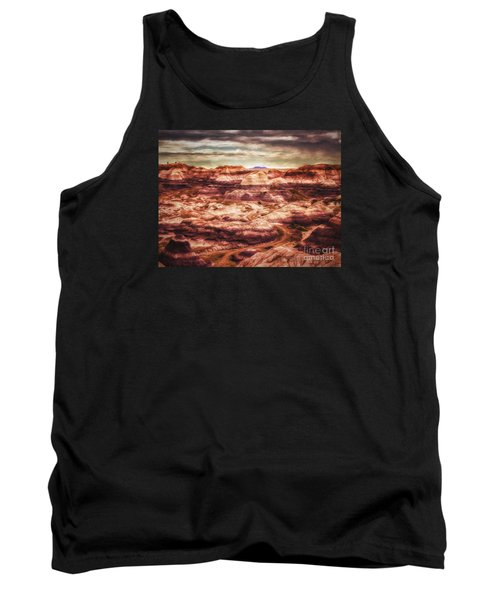 Canyon In The Painted Desert  ... Tank Top