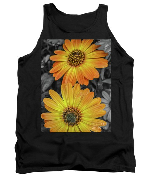 Cape Daisy's - Orange Tank Top