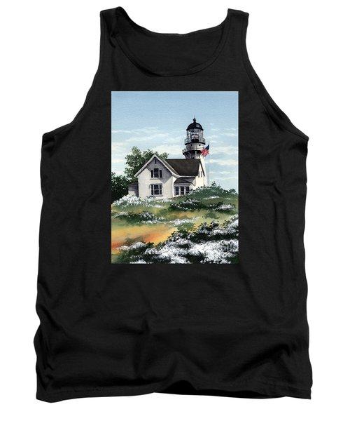 Cape Elizabeth Lighthouse Tank Top