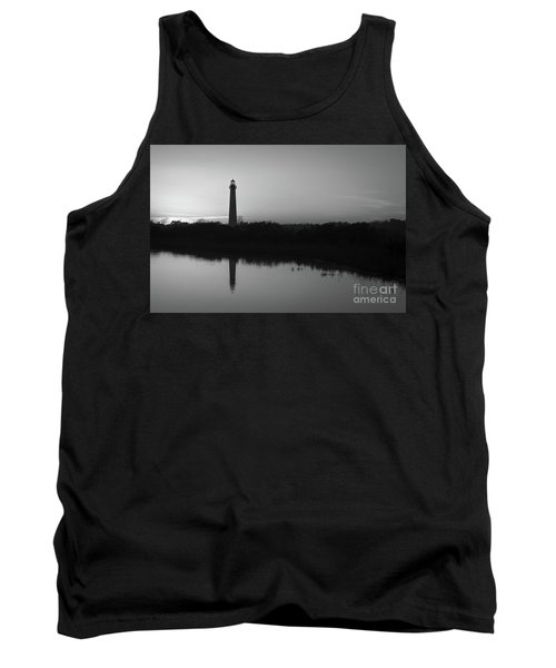 Cape May Black And White Silhouette Tank Top