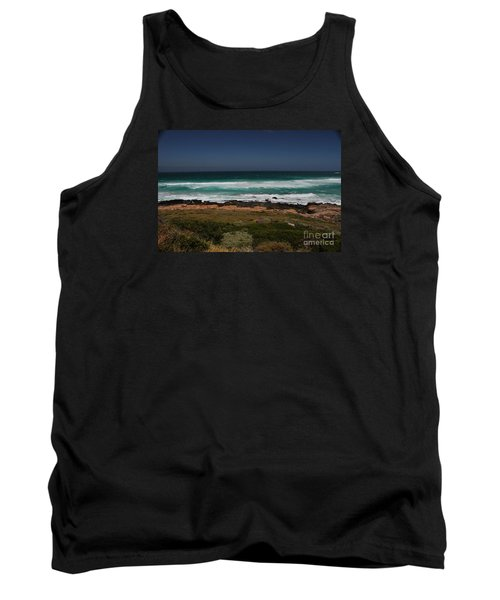 Capetown Penisula Beach Tank Top by Bev Conover
