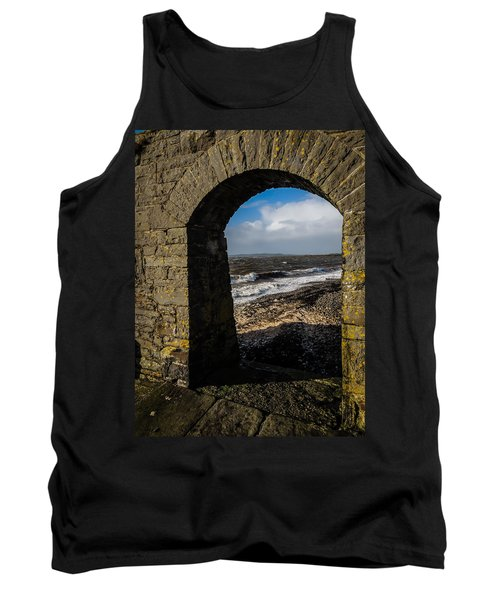 Cappagh Pier And Ireland's Shannon Estuary Tank Top