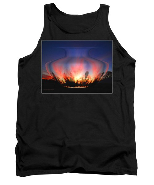 Tank Top featuring the photograph Capricorn Morning by Joyce Dickens