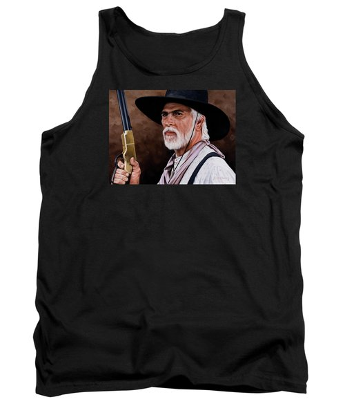 Tank Top featuring the painting Captain Woodrow F Call by Rick McKinney