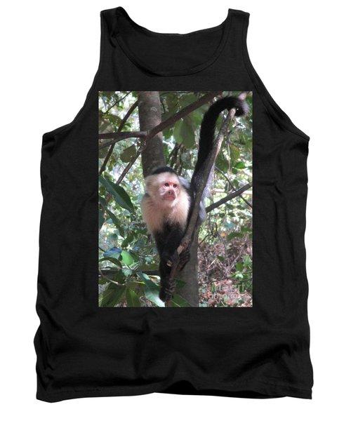 Capuchin Monkey 4 Tank Top by Randall Weidner
