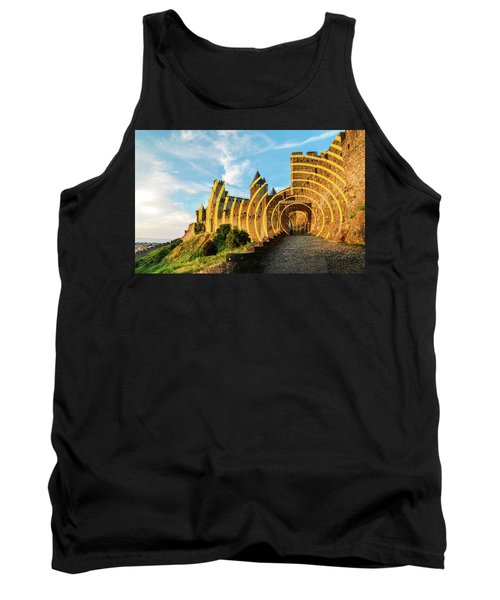 Carcassonne's Citadel, France Tank Top