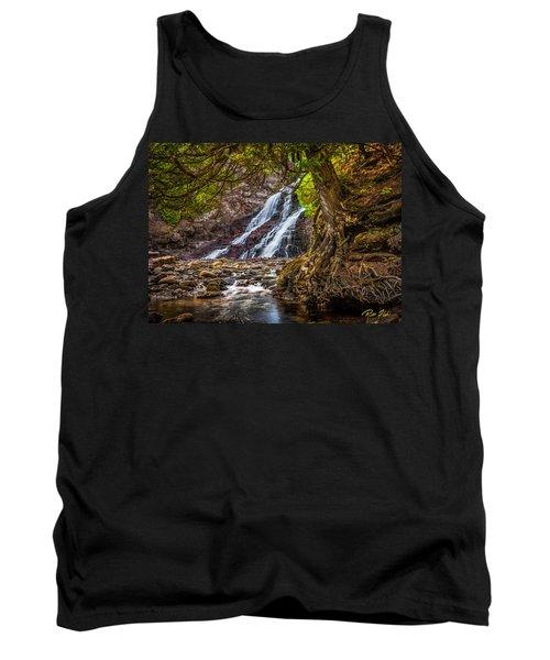 Caribou Falls In Fall Tank Top