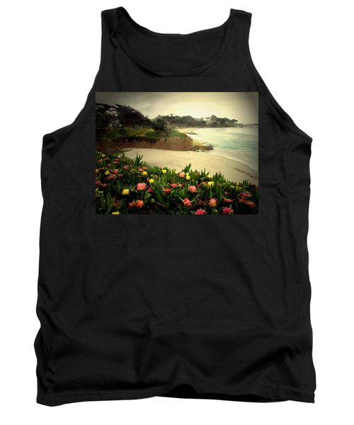 Carmel Beach And Iceplant Tank Top