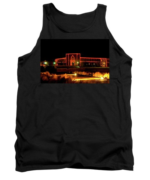 Tank Top featuring the photograph Carol Of Lights At Science Building by Mae Wertz
