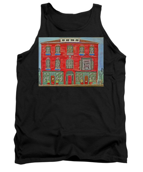Carpe Diem Coffee Roasters Tank Top