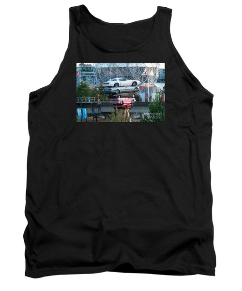 Cars In The Air Tank Top