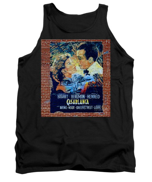 Tank Top featuring the photograph Casablanca Mural 2013 by Padre Art